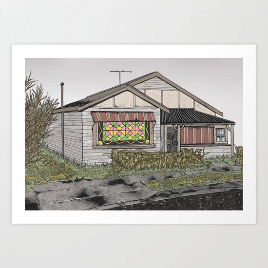 House 02 Art Print