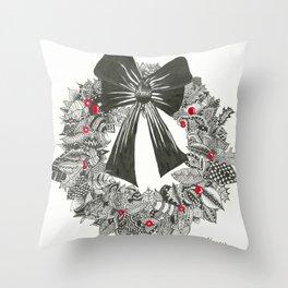 Happy Holidays! Throw Pillow