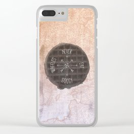 Never Eat Soggy Waffles Clear iPhone Case