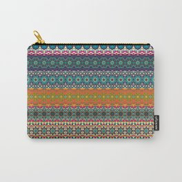 Vintage tribal aztec pattern Carry-All Pouch