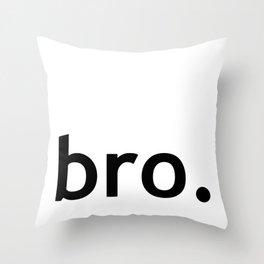 Bro. Bro Art, Baby Boys Throw Pillow