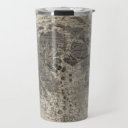 Engraving: The Surface of the Moon Travel Mug