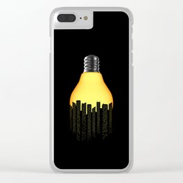 Bright Light Big City Clear iPhone Case