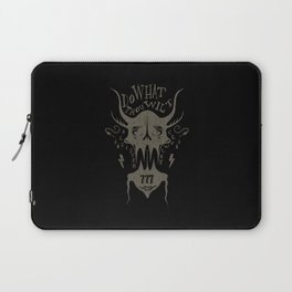 Do What Thou Wilt - Aleister Crowley Laptop Sleeve