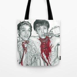 Bloody Boys drawing Tote Bag
