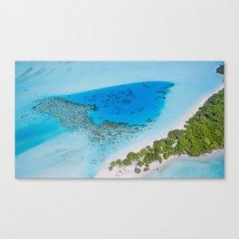 Tropical Caribbean Ocean Canvas Print