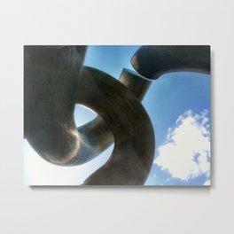 Metal Curve II Metal Print