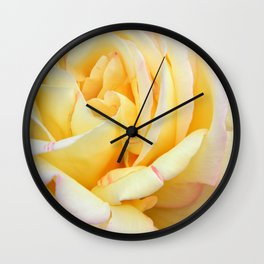 Up Close and personal in Peace Wall Clock