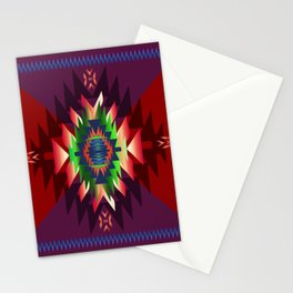 southwest dream in wine Stationery Cards