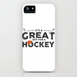 Day for Hockey iPhone Case