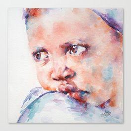 In Despair Canvas Print
