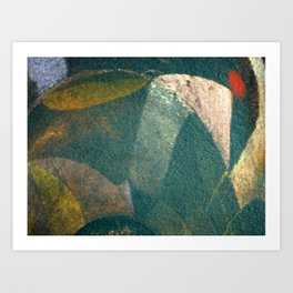 The Monk and the Bicycle Art Print