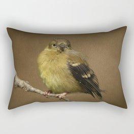 Baby Female Goldfinch Rectangular Pillow