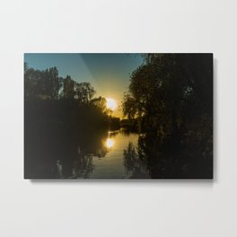 Great River Ouse from a boat (2) Metal Print