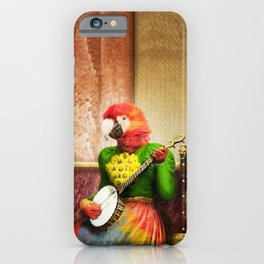 Banjo Birdy Plucks a Pretty Tune! iPhone Case