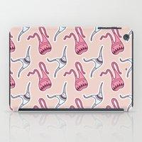 sticker iPad Cases featuring sticker monster pattern 7 by freshinkstain