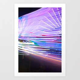 Night Light 66 Art Print
