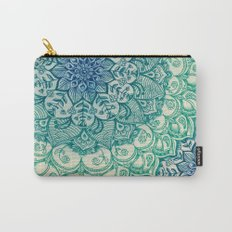 Emerald Doodle Carry-All Pouch