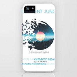 INTELLIGENT JUNGLE iPhone Case