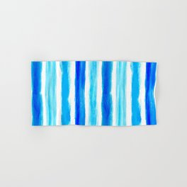 Laird Blue Stripes Hand & Bath Towel