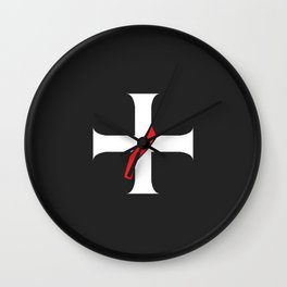 Deacon's Cross Wall Clock