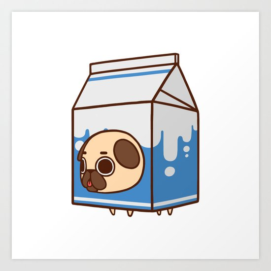 Puglie Milk Carton Art Print