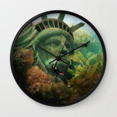 East Coast Sightseeing Wall Clock