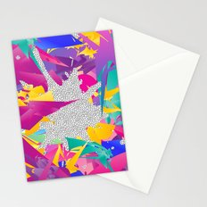 80s Abstract Stationery Cards