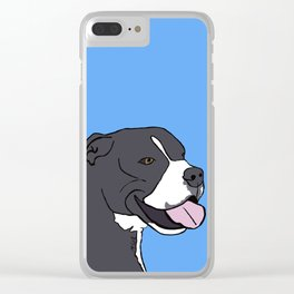 Cash The True Bluenose Pit Bull Clear iPhone Case