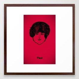 Paul. Framed Art Print