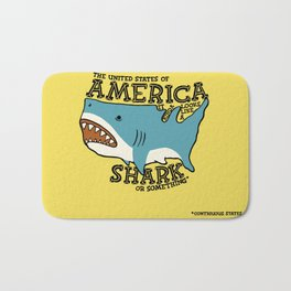 America…   it kinda looks like a shark or something Bath Mat
