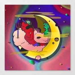 Sleepyhead (일어나) Canvas Print