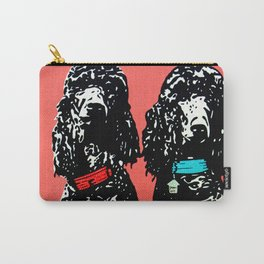Poodles Carry-All Pouch