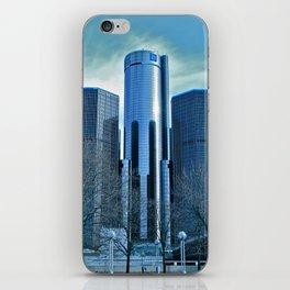 Detroit Renaissance Center (Ren Cen) GM Headquarters iPhone Skin