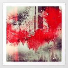 A Season Of Rough Waters Art Print