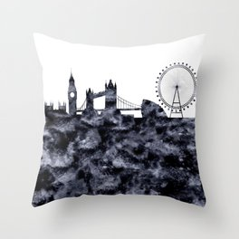 London Great Britain Throw Pillow