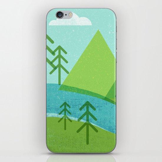 Roll On Columbia iPhone & iPod Skin