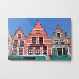 Bruges 2 Metal Print