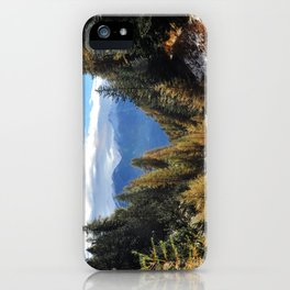 Firs And Larches iPhone Case