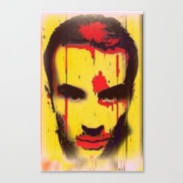 Blyellow Canvas Print