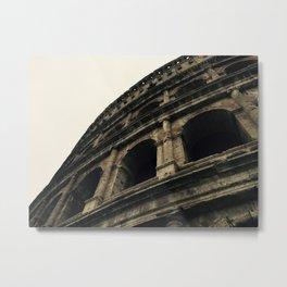 Gothic Colosseum Metal Print