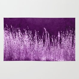 Grasses Pink Rug