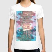 lunar T-shirts featuring Lunar Arboretum by DEMETRI ESPINOSA