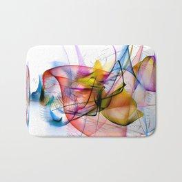 Structur World by Nico Bielow Bath Mat