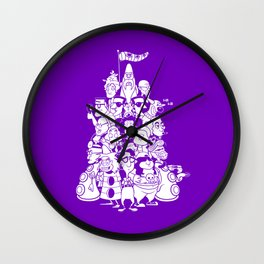 Day at the Mansion Wall Clock