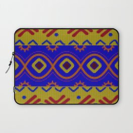 Ethnic African Knitted style design Laptop Sleeve