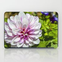 dahlia iPad Cases featuring Dahlia by Bold Creative Arts