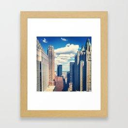 New york I love you Framed Art Print