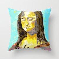 renaissance Throw Pillows featuring Renaissance by Jason Perkins Designs