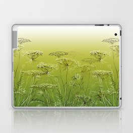 Wild flowers and weeds. Laptop & iPad Skin